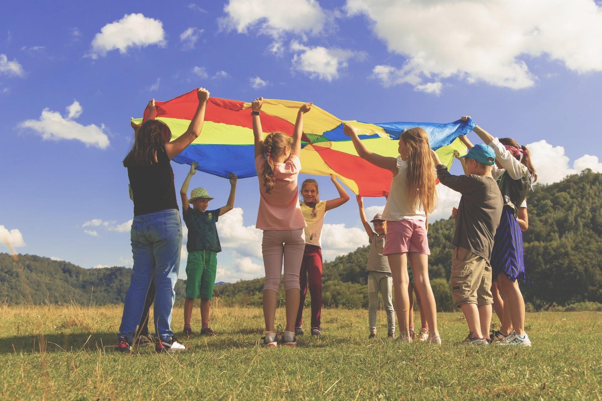 Vereine Kinder Camping