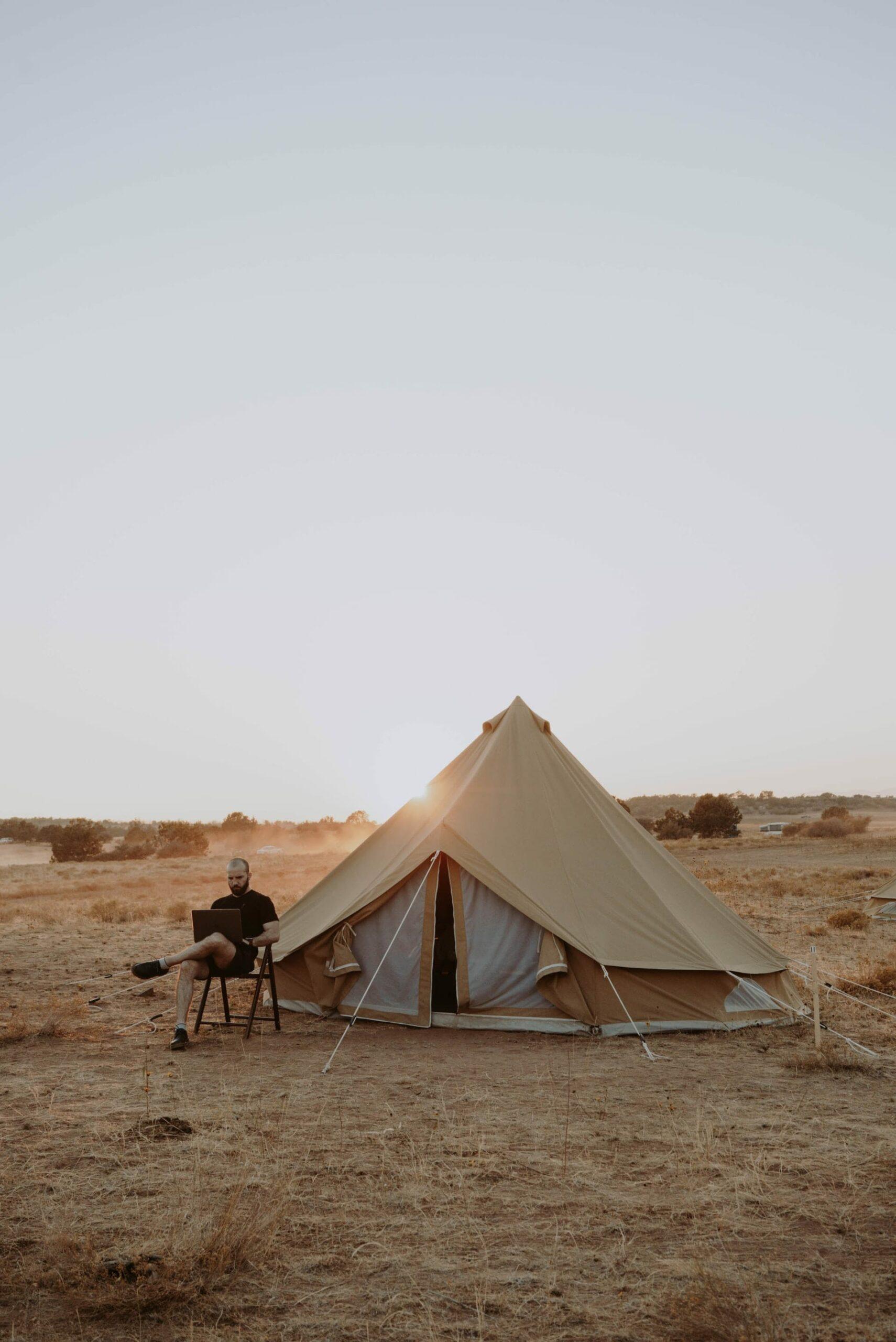 Campingplatz Eröffnung