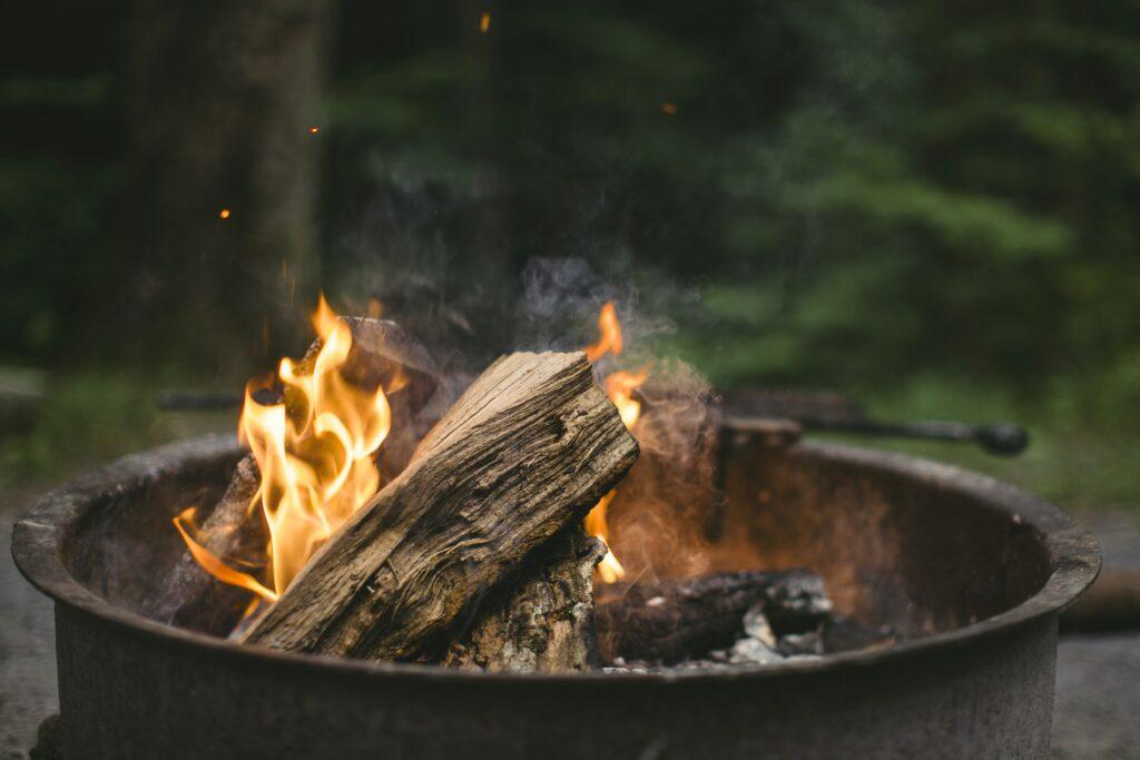 Verhaltensregeln beim Camping